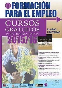 cartel curso produccion de semillas y plantas en vivero